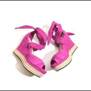Ugg pink wedges